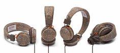 Urbanears Harris Tweed Plattan Headphones - due for release late Oct 2012