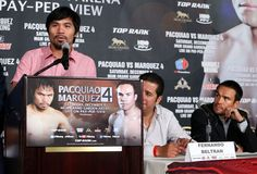 Pacquiao on opening presser.