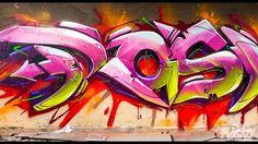Graffiti Art by RASKO: Bombing In da HOOD!, via YouTube.