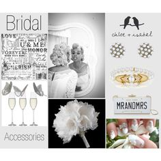 """Bridal Accessories"" by crimsonpaisley on Polyvore  Shop www.chloeandisabel.com/boutique/natasha  #jewelry #lifetimereplacement #style #fashion #wedding #bride #BridesMaid"