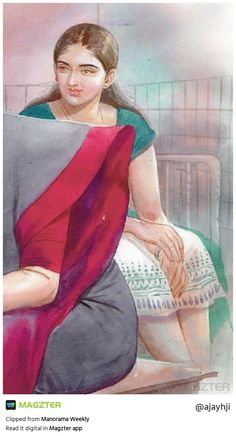 Indian Women Painting, Indian Art Paintings, Old Paintings, Sexy Painting, Woman Painting, Cartoon Girl Drawing, Girl Cartoon, Pictures To Draw, Drawing Pictures
