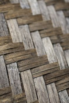 """Weave Pattern""; bamboo basket closeup. 