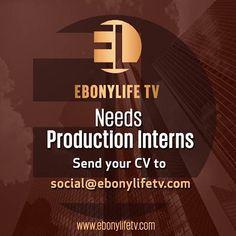 Welcome to Alex Ehi's blog: EBONYLIFETV