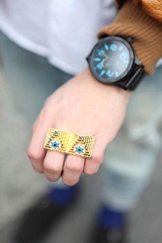 I'd wear it...men's accessories