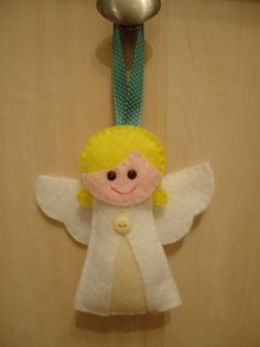 christmas angel felt