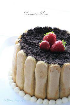 Pastel gourmet de tiramisu con galletas oreo de bake-a-boo, para un cumpleaños divertido y delicioso.