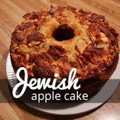 The Two Bite Club: Side Dishes - Sweet Treats - Kuchen Jewish Apple Cakes, White Chocolate Fudge, Apple Cake Recipes, Cupcake Recipes, Decadent Food, Jewish Recipes, Cupcake Cakes, Bundt Cakes, Cupcakes
