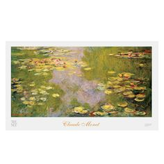 Claude Monet: Water Lilies Large Poster