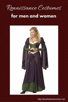 Renaissance Costumes for Men and Women