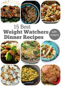 15 Best Weight Watchers Dinner Recipes