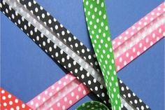 ¡Para los fans de la costura! Aprende a hacer tu propia cinta al bies con el estampado que te guste.