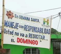 > Recordemos la prudencia a los #Jaraguenses en #SemanaSanta https://www.instagram.com/p/BDVIULVGOiH/
