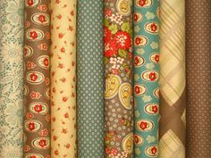 Urban Cowgirl 1/2 Yard Fabric Bundle by Urban Chiks for Moda 4 Yards Total. $44.00, via Etsy.