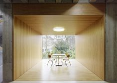 Love those withdrawal spaces- do NOT love the classrooms in rows!!  Dezeen » Blog Archive » Mörike Gymnasium by Klumpp + Klumpp