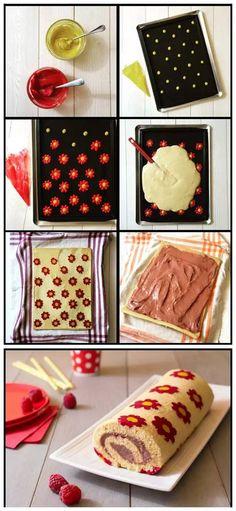 花式卷蛋糕