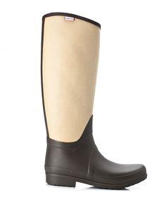 Ah, Hunter boots. We A lot!