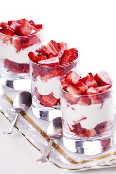 Fancy Strawberry Desserts !