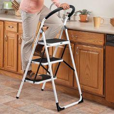 safe step ladder kitchen - Google Search