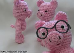 Little Bigfoot Piggy 2014 With Video ~ Amigurumi To Go