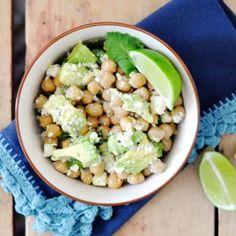 Avocado & Chickpea Salad