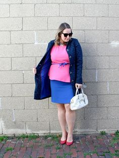 In Kinsey's Closet | Hot pink and electric blue