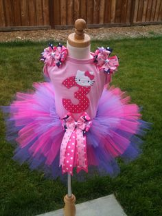 Hello Kitty TuTu Set this is exactly what I need for Emma!
