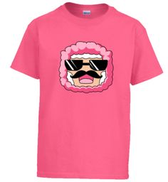 'PinkSheep' Youth T-Shirt Pink Sheep, Size Chart, Minecraft Mobs, Youth, Tees, Mens Tops, Cotton, T Shirt, Collection