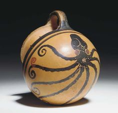 A Greek Black-figure Handled Mug with an Octopus by Ancient Art, via Flickr