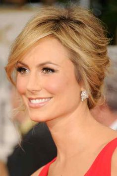 Stacy Keibler's makeup was quite possibly the best of the night.