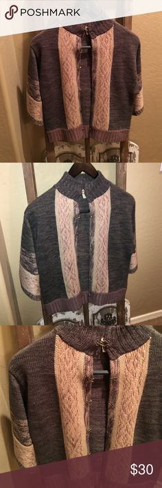 BKE GIMMICKS BOUTIQUE JACKET BKE GIMMICKS BOUTIQUE JACKET. Size small. Thick soft material with three-quarter sleeve and high neck. Never worn. No blemishes BKE Jackets & Coats