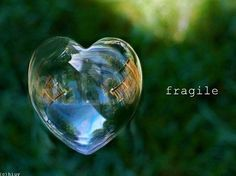 Fragile and breakable.....needs lots of   TLC.....