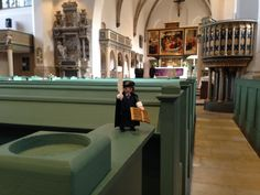 He made his way into the City Church – Martin Luther preached here more than 2000 times!  Copyright: Tourismusregion Anhalt Dessau