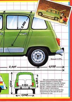 R4 GTL brochure2 Citroen Car, Matchbox Cars, Vw Cars, Car Advertising, Fiat 500, Peugeot, Cars And Motorcycles, Vintage Cars, Dream Cars