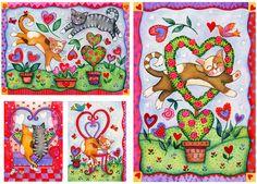 Children's Valentine Collection by Janet Broxon