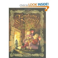 Tumtum and Nutmeg, two mice who live in a dollhouse and care for two children who believe elves are their caregivers. Sweet story.