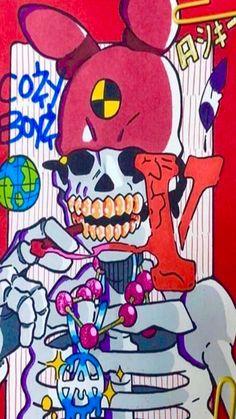 Rapper Wallpaper Iphone, Aesthetic Iphone Wallpaper, Aesthetic Wallpapers, Pop Art Wallpaper, Trippy Wallpaper, Arte Grunge, Travis Scott Wallpapers, Graffiti Wall Art, Rapper Art