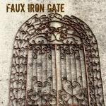 faux iron gate made from toilet paper tubes / suzys artsy craftsy sitcom Iron Wall Art, Metal Wall Art, Reuse Recycle, Recycling, Pumpkin Carriage, Paper Bead Jewelry, Do It Yourself Crafts, Recycled Crafts, Metal Walls