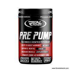 Хранителната добавка Real pharm pre pump е изключително ефективна предтренировъчна формула с добавени витамин С, таурин и пълен спектър микроелементи.