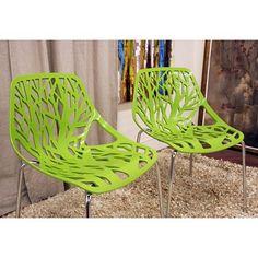 Like these funky chairs