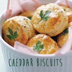 Pass the Cheddar Biscuits, please! // #recipe #dinner