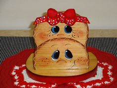 Wooden Hand Painted Gingerbread Napkin Holder. $13.50, via Etsy.