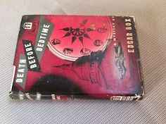Death Before Bedtime By Edgar Box First Edition Rare 1953 Dutton Guilt Mystery