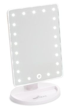 Impressions Vanity Co. Touch Led Vanity Mirror, Size One Size - White Room Ideas Bedroom, Small Room Bedroom, Spare Room, Light Up Vanity, Rose Gold Room Decor, Led Makeup Mirror, Led Mirror, Shower Tile Designs, Makeup Products