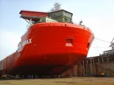 First of ZPMC-Red Box module carriers leaves drydock