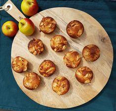 Recept appel yoghurt muffins, muffins met appel, appel cakejes, cake met yoghurt, yoghurt cake, zelf maken, zonder pakjes en zakjes Baking Recipes, Dessert Recipes, Yogurt Muffins, Healthy Snacks, Healthy Recipes, Food Inspiration, Sweet Recipes, Cupcake Cakes, Breakfast