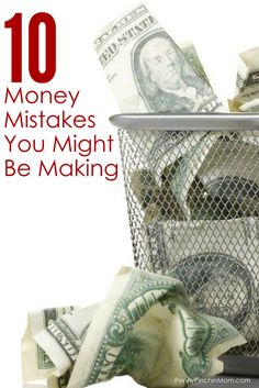 From budgeting to spending, there are money mistakes most people make and do not even realize it. Finance Tracker, Finance Tips, Money Tips, Money Saving Tips, Paying Off Credit Cards, Frugal Living Tips, Debt Payoff, Personal Finance, Create