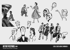 Light hearted look at the 50s style