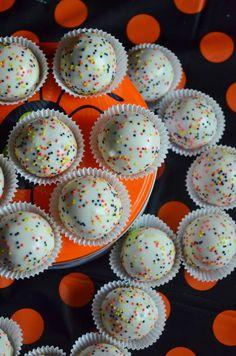 For the Love of Dessert: Caramel Apple Cake Balls (Pops)