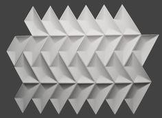 Anaya Wall Tile by Concrete Tiles, Concrete Design, Tile Patterns, Textures Patterns, Aesthetic Revolution, 3d Wall Tiles, 3d Poster, 3d Panels, Tiling