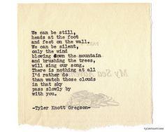 Typewriter Series #943 by Tyler Knott Gregson